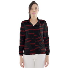 Red and black Wind Breaker (Women)