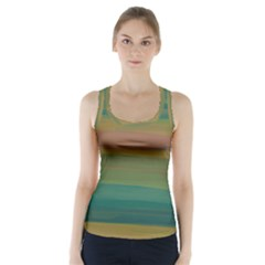 Watercolors          Racer Back Sports Top