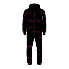 Purple and black Hooded Jumpsuit (Kids)