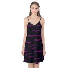 Purple and black Camis Nightgown