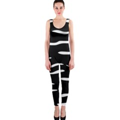 Black and white OnePiece Catsuit