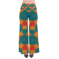 Honeycombs and triangles pattern                                                                      Women s Chic Palazzo Pants