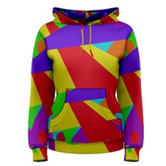 Colorful abstract design Women s Pullover Hoodie