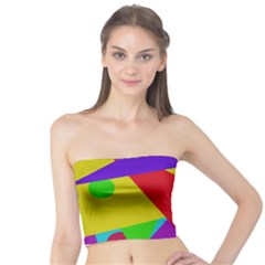 Colorful abstract design Tube Top
