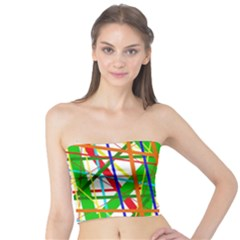 Colorful lines Tube Top