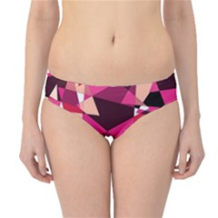 Red broken glass Hipster Bikini Bottoms