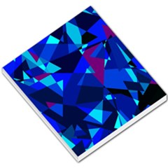 Blue broken glass Small Memo Pads
