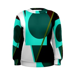 Geometric abstract design Women s Sweatshirt