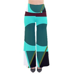 Geometric Abstract Design Pants