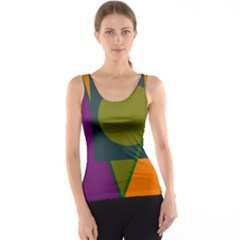 Geometric abstraction Tank Top