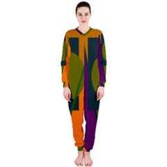 Geometric abstraction OnePiece Jumpsuit (Ladies)