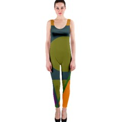 Geometric abstraction OnePiece Catsuit