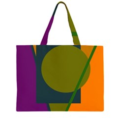 Geometric abstraction Large Tote Bag