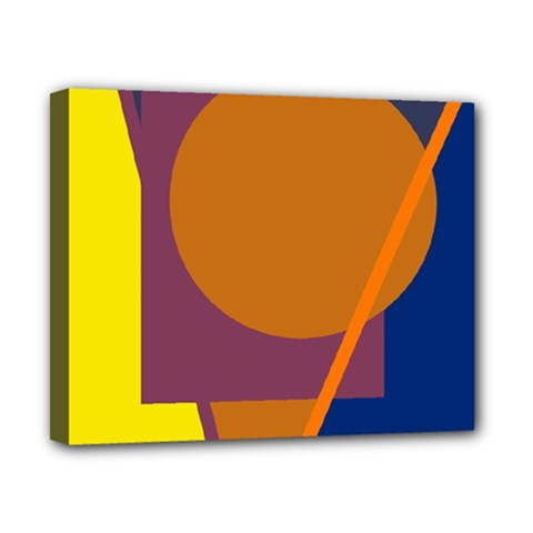 Geometric abstract desing Canvas 10  x 8