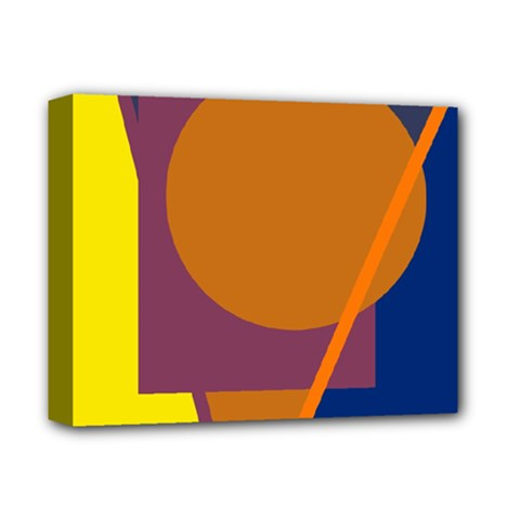 Geometric abstract desing Deluxe Canvas 14  x 11