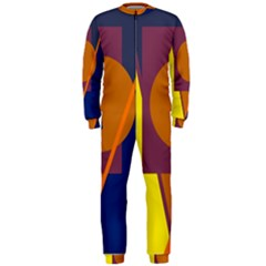 Geometric abstract desing OnePiece Jumpsuit (Men)