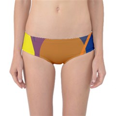 Geometric abstract desing Classic Bikini Bottoms