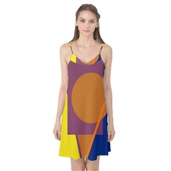 Geometric abstract desing Camis Nightgown