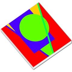 Colorful geometric design Small Memo Pads