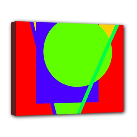 Colorful geometric design Deluxe Canvas 20  x 16