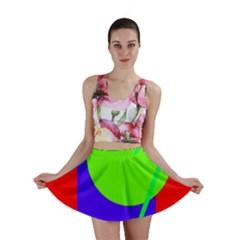 Colorful geometric design Mini Skirt