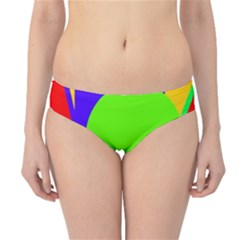 Colorful geometric design Hipster Bikini Bottoms