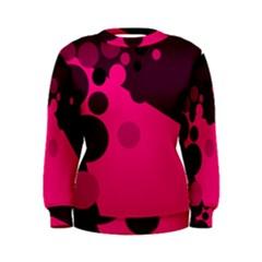 Pink dots Women s Sweatshirt