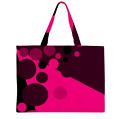 Pink dots Large Tote Bag