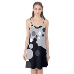 Gray decorative dots Camis Nightgown