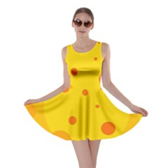 Abstract sun Skater Dress