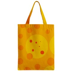 Abstract sun Zipper Classic Tote Bag