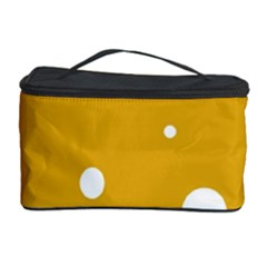 Blue and yellow moon Cosmetic Storage Case