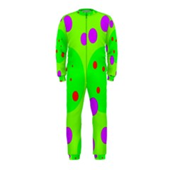 Green and purple dots OnePiece Jumpsuit (Kids)
