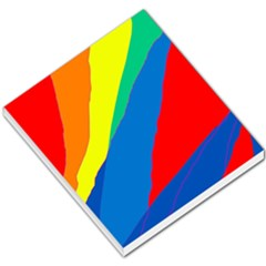 Colorful abstract design Small Memo Pads