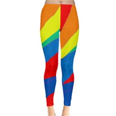 Colorful abstract design Leggings