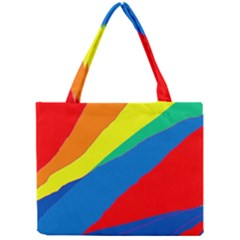 Colorful abstract design Mini Tote Bag