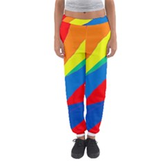 Colorful abstract design Women s Jogger Sweatpants