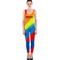 Colorful abstract design OnePiece Catsuit