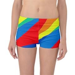Colorful abstract design Boyleg Bikini Bottoms