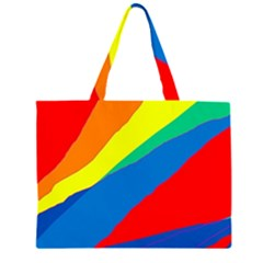 Colorful abstract design Large Tote Bag