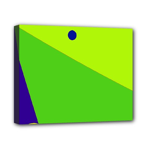 Colorful abstract design Canvas 10  x 8