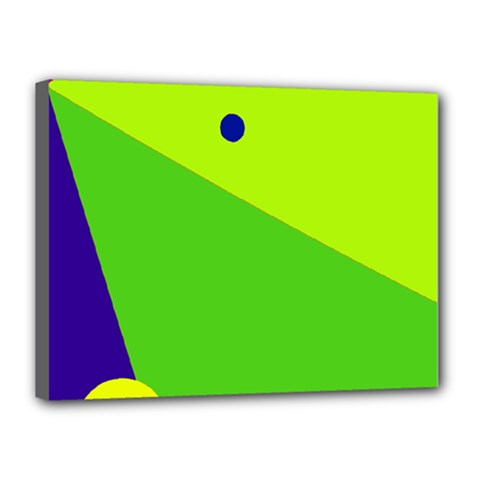 Colorful abstract design Canvas 16  x 12