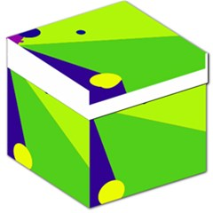 Colorful abstract design Storage Stool 12