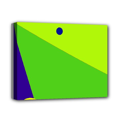 Colorful abstract design Deluxe Canvas 14  x 11