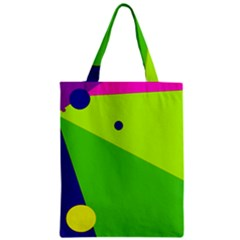 Colorful abstract design Zipper Classic Tote Bag