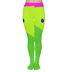 Colorful abstract design Women s Tights