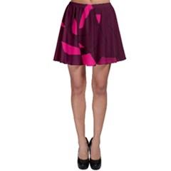 Abstract design Skater Skirt