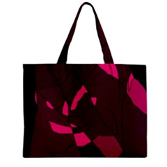Abstract design Zipper Mini Tote Bag