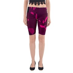 Abstract design Yoga Cropped Leggings