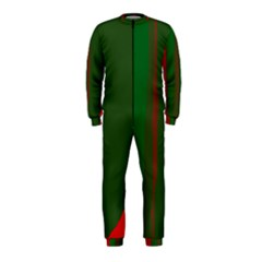 Green and red lines OnePiece Jumpsuit (Kids)